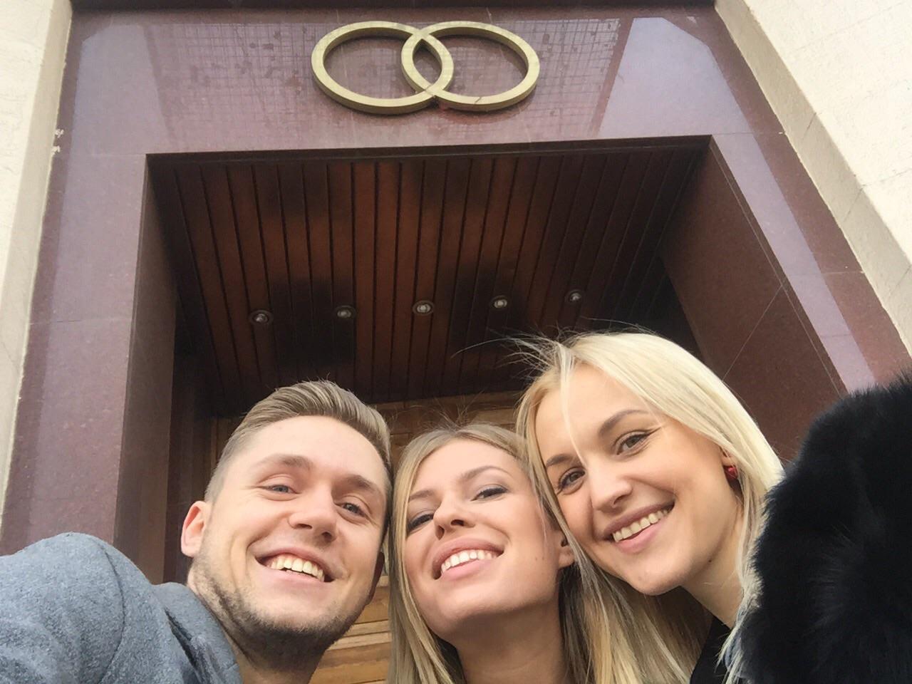 Фото влада соколовского с девушкой