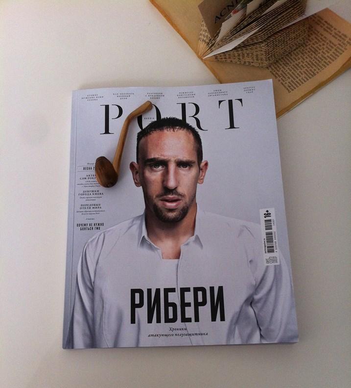 Обложка журнала PORT